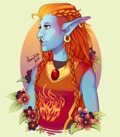 Kazala of the Sunguard by AvannTeth