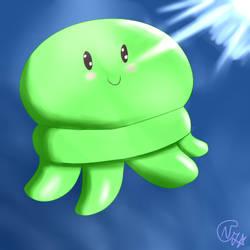 Cute Jellyfish~ by NayKiler