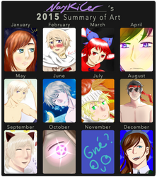 2015 Summary of Art~ by NayKiler