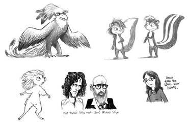 M. Stipe, creatures, et moi by Pedantia