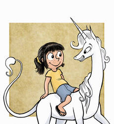 Phoebe and Marigold by Pedantia