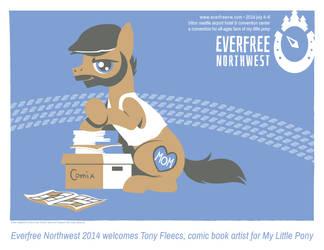 Tony Fleecs announcement by Pedantia