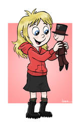 Amber's doll by Pedantia