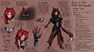 'Reyna: Kuro iv Fox' Design by Magnolia-Baillon