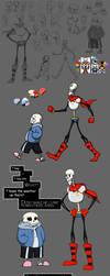 Skelebros! by grievousfan