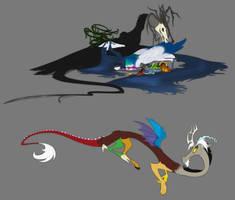 Headcanon: Draconequui by grievousfan
