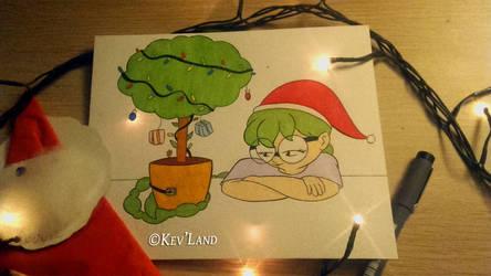 Christmas Tree by Kev-ncartoon