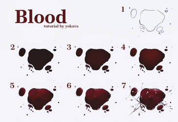 Blood Tutorial by yokava
