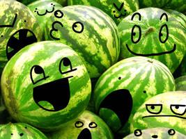 Watermelons by Kingdom-Konoha