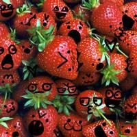 Strawberries by Kingdom-Konoha