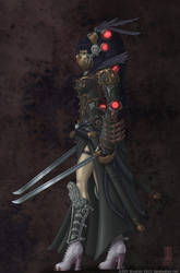 Crimson Rider by DPIStudios