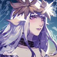 FFxiv aura commission by Shiririn666