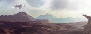 Distant World Patrol by snugsomeone