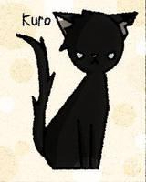 Kuro STRAY by mean-kitty