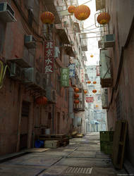 Kowloon Alley by CGStirk
