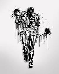 Cobra Commander InkSick by albizu