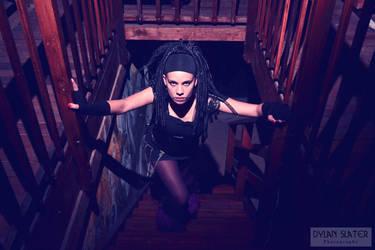 The stairway by Black5pointstar