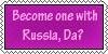 Stamp: Become one with Russia, Da? by Toboe4Ever