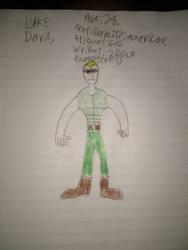 Luke Davis. by ImmortalWarrior98