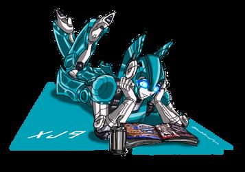 Teenage Robot - XJ9 by punkbot08
