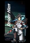 Strider Hien - Reboot Concept by punkbot08