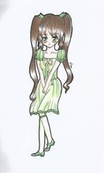 OC: Emiko Re-design by steffy367