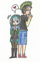 C: Gwen and Duncan (Total Drama Island) by steffy367