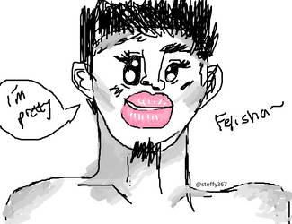 Fabulous Faces #1~ Felisha by steffy367