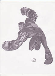 Colossus Sketch by rob-T512