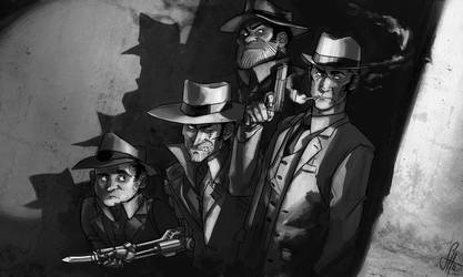 Mobsterswitched Midnight Crew by arok318