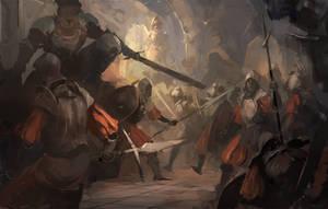 Battle by BiwerVincent