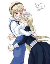 Hetalia - Sisterly Love by sego-chan