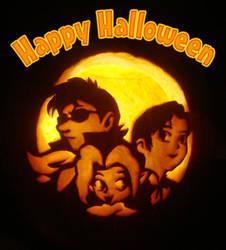 Halloween Pumpkin 2010 by sonicgirl11