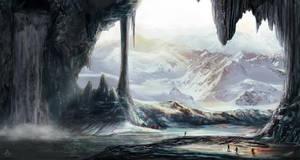 Cavern by spiffyartistgirl