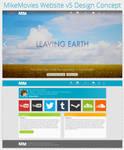 MikeMovies Website v5 Design Concept by MikeMovies