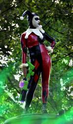Harley Quinn laughing gass by Scarlett-Quinn