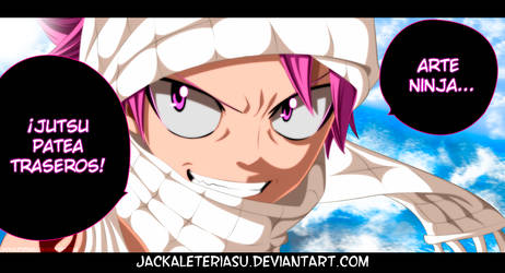 Fairy Tail 441 Natsu Dragneel by JackalEteriasu