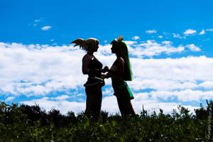 Eva and Amalia by CarambolaG