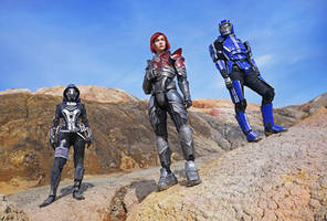 Mass Effect team by CarambolaG