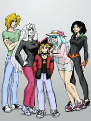 Yukai and gang by Yukai-no-Yugi