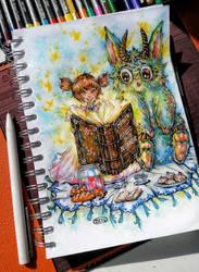 Young Witch by DZIU09