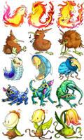 Creatures by Daguu