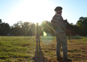Early Morning Engagement by CombatCamera09
