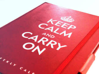 Keep Calm and Carry On by Choux-Chantilly
