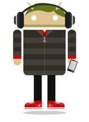 Me as an Android by brandongiesing