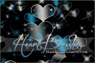 +HeartBrushes by alondra13ize