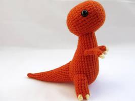 Amigurumi Tyrannosaurus Rex Dinosaur 1 by MevvSan