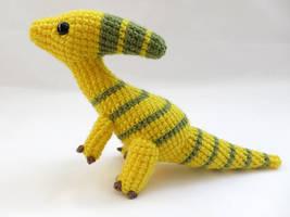 Amigurumi Parasaurolophus Dinosaur 1 by MevvSan