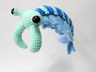 Amigurumi Skip the Anomalocaris by MevvSan