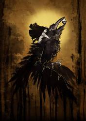 The Four Horsemen: Death by AnKer-Illustration